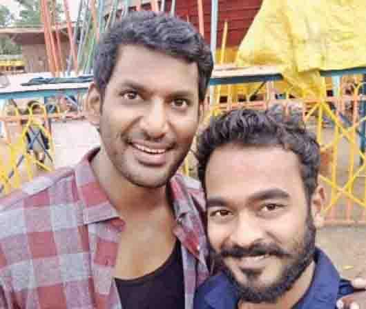 Jimikki Kammal Appani Sarath bags role in Sandakozhi2