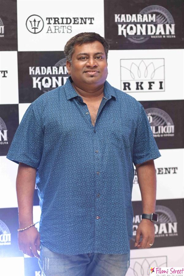 Kadaram kondan trailer launch photos