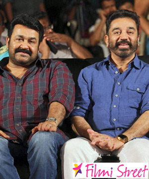 Kamal and Mohanlal gave Voice over in Syeraa movie