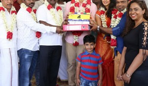 Kee movie pooja stills