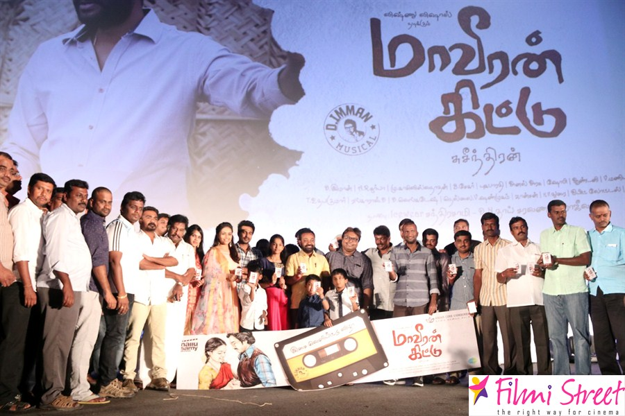 Maaveeran kittu audio launch photos