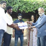 Mahat and Aishwarya Dutta untitled movie Pooja Photos
