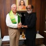 Malaysian PM Najib Razak With Super Star  Rajinikanth