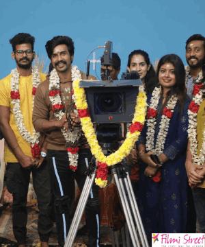 விஷ்ணு & ஐஸ்வர்யா இணையும்  'மோகன்தாஸ்' படப்பூஜையுடன் சூட்டிங் தொடக்கம்