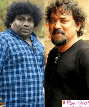 yogi babu and santhosh sivan