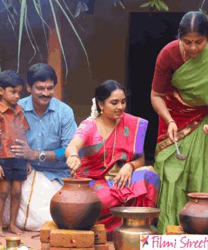 இ.வி.கணேஷ்பாபு இயக்கி கதாநாயகனாக நடிக்கும் #கட்டில் திரைப்பட குழுவினரின் #பொங்கல் கொண்டாட்டம்
