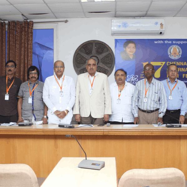 17th Chennai International Film Festival Press Meet Stills