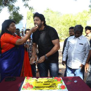JR 25 Movie Pooja and 16th Year Celebration Photos