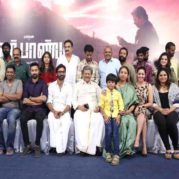 Power Paandi movie press meet photos