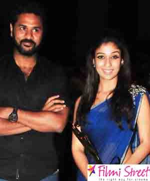 Prabhu Deva and Nayanthara