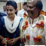 ரஜினி என்ற கடவுளுடன் சாமி தரிசனம் செய்தேன்; த்ரிஷா பெருமிதம்