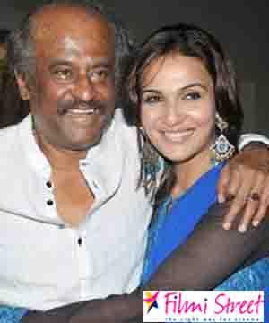 Rajini daughter Soundarya may have major responsibility in Rajini Political Party