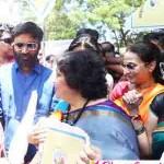 ரஜினி குடும்பத்தினர் கலந்துக் கொண்ட பாரத் யாத்ரா