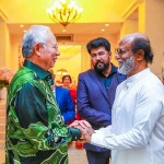 Rajinikanth meet Malaysian PM Photos
