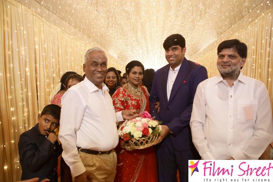Salem RR Biriyani MD Tamil Selvan's Daughter Reception at Chennai Stills