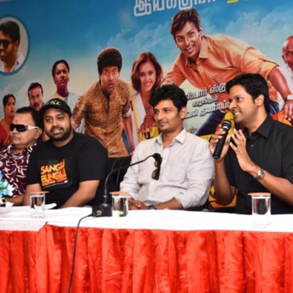Sangili Bungili Kadhava Thorae Press Meet Photos