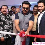 Sarath kumar launches Flux Fitness and  Spa Saloon