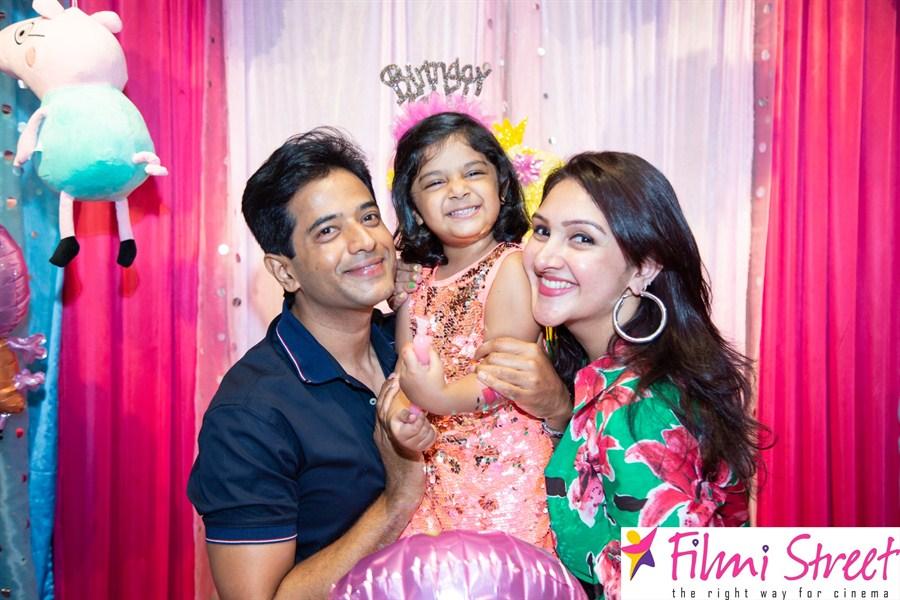 Sridevi Vijaykumar Rahul Daughter Rupikaa 3rd Birthday Stills