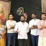 Suriya in Thaanaa Serndha Koottam movie pooja