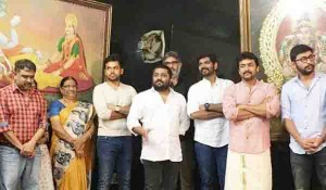 Suriya in Thaanaa Serndha Koottam movie pooja