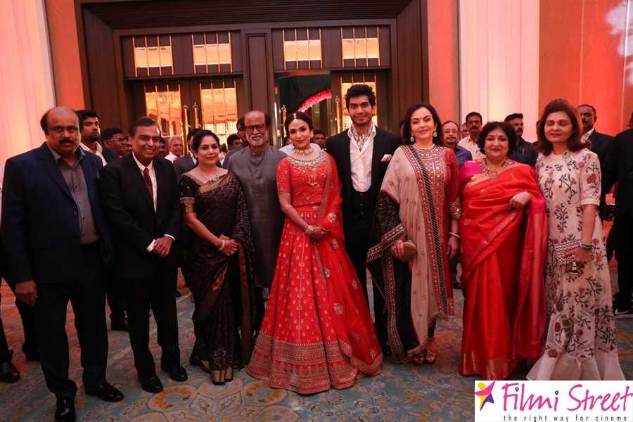 Vishagan – Soundarya Rajinikanth Wedding Stills