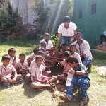 Vishal Celebrates Childrens Day photos
