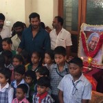 Vishal pays respect to DR APJ Abdul Kalam  Photos