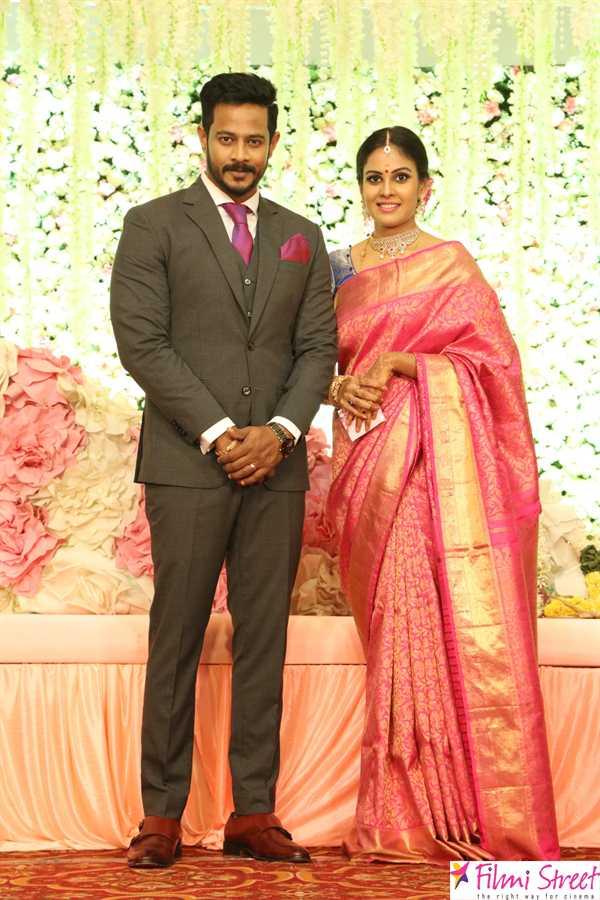 Chandini Tamilarasan Wedding Reception Photos