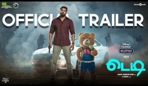 Teddy Official Trailer Tamil