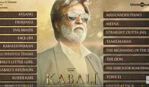 Kabali (Original Background Score) mp3 audio songs