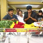 Celebrities pay last respect to Veteran director and producer Muktha Srinivasan