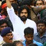 பவன் கல்யாண் தலைமையிலான ஜனசேனா நடத்திய அரசியல் பேரணி