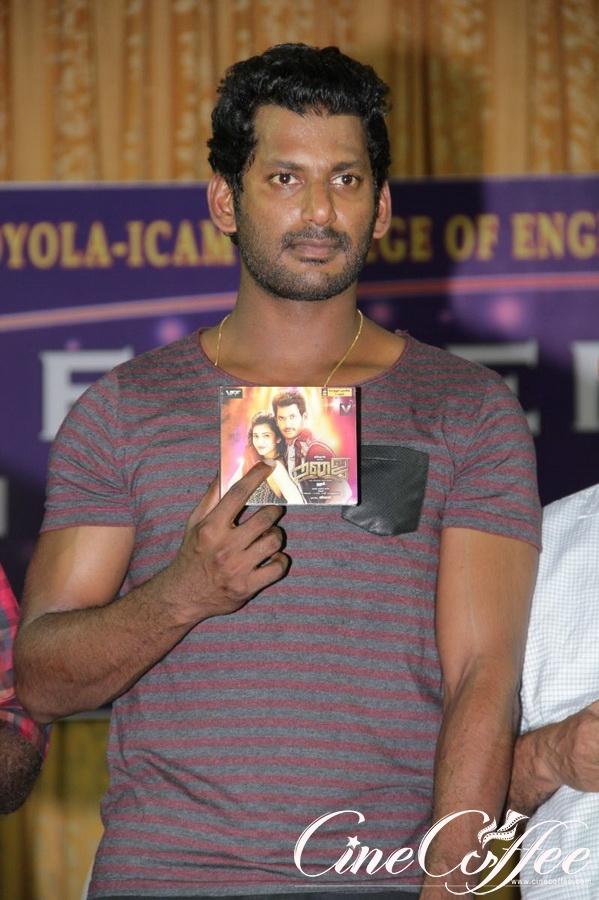 Poojai Audio Launch Stills