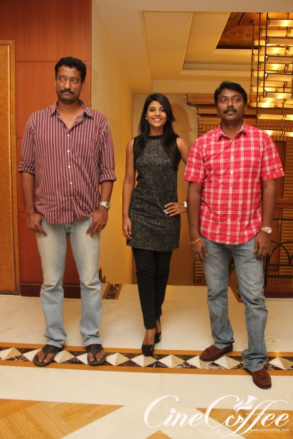 Thirudan Police Team at Hotel GRT Grand Cake Mixing
