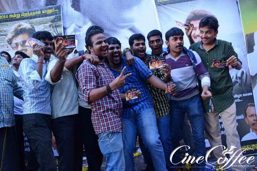 Fans celebrates Rajini Birthday and Lingaa Release