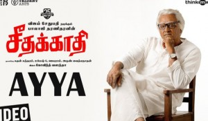 Seethakaathi – Ayya Video Song mp3 audio songs
