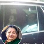 ஜெயலலிதா உடல்நிலை குறித்து விசாரித்த ரஜினி-ஐஸ்வர்யா தனுஷ்