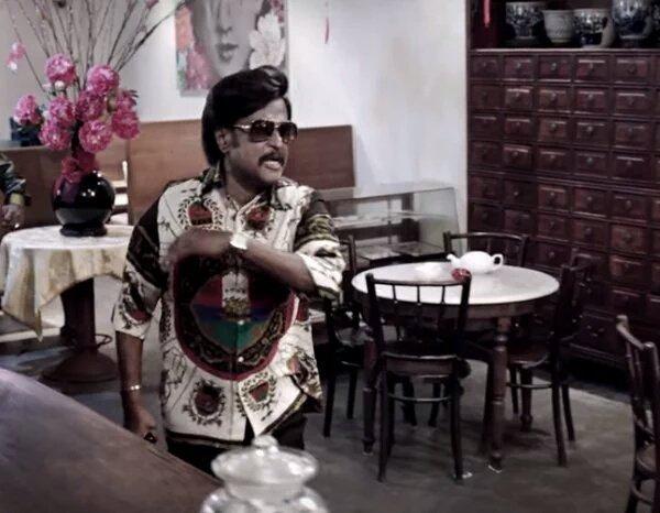 rajini old look in kabali