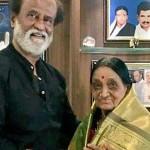 தன் 78 வயது ரசிகை  சாந்தாவுக்கு ரஜினி தந்த கௌரவம்