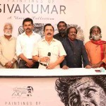 Paintings of Sivakumar Exhibition Inauguration Photos
