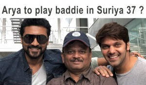 ARYA to play BADDIE in SURIYA 37 ?