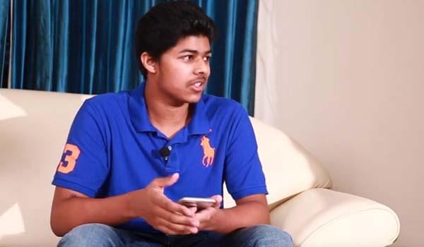 VJ வாக மாறிய தளபதி விஜய் மகன் சஞ்சய் mp3 audio songs
